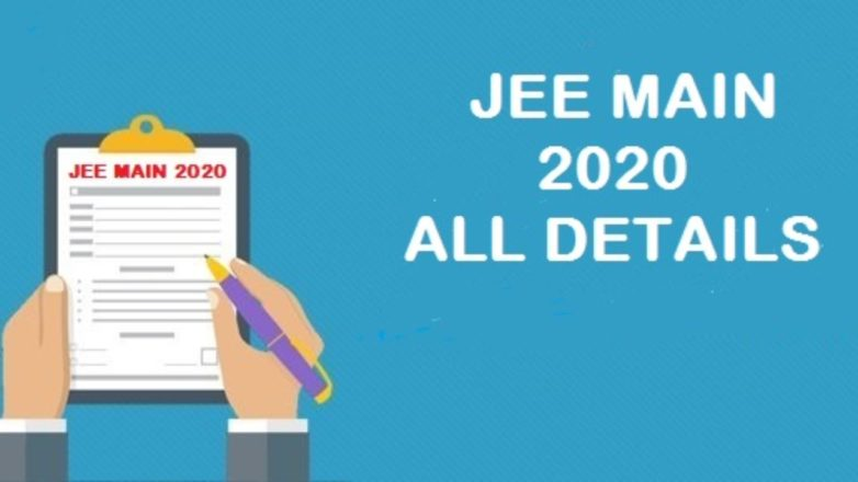JEE Main January 2020 registration process begins @ jeemain.nic.in, Check details here