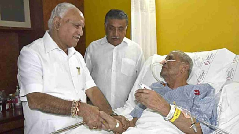 Former union minister MV Rajasekharan dies at 91 in Bengaluru