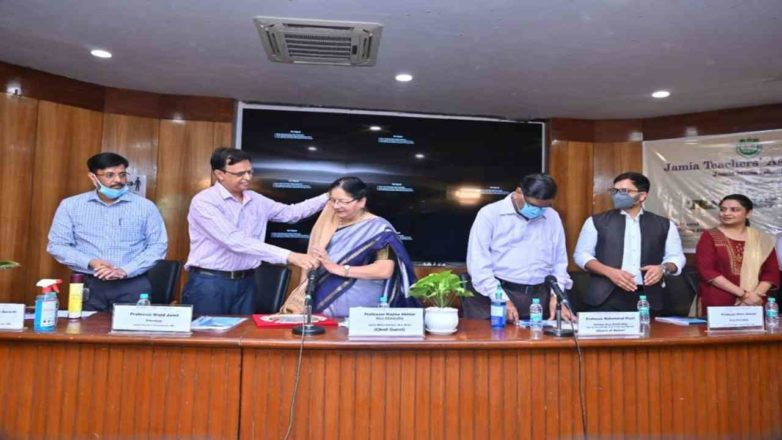 Jamia Teachers' Association honors retired and notable faculties on Teachers' Day